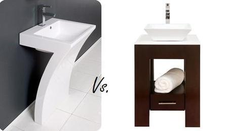 Pedestal Sink Vs. Vanity