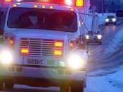 Morning Accidents Near Joesph, Missouri Snowfall