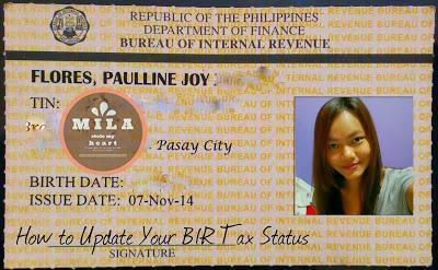 BIR TIN ID CARD