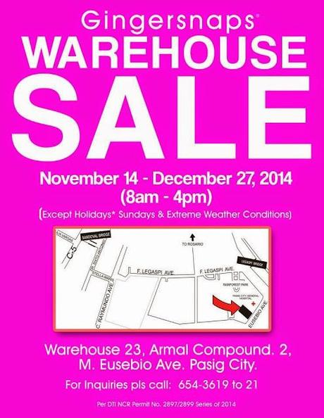 Gingersnaps Warehouse Map