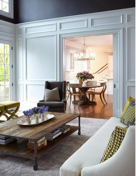 A luxe neoclassical home