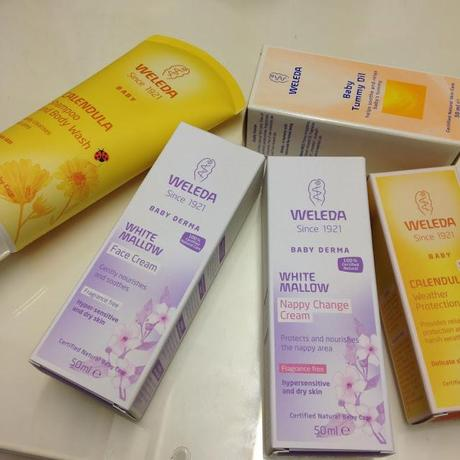 All Boxed Up - Beauty Box From Weleda.