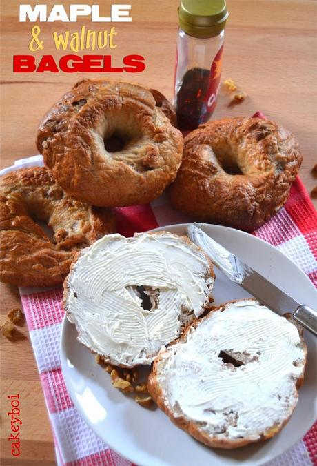 Maple & Walnut Bagels