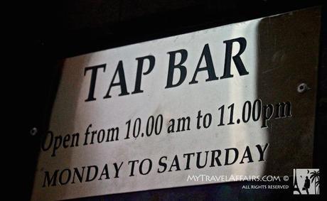 The Dodgy Bar Tour, Colombo, Sri Lanka