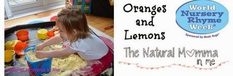 World Nursery Rhyme Week: Oranges and Lemons Messy Play