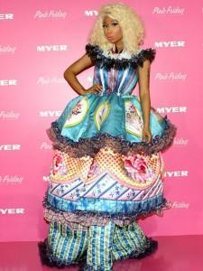 nicki minaj bad fashion 225x300 celebrity fashion