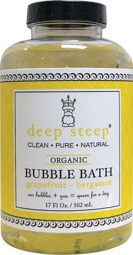 Organic Grapefruit Bubble Bath