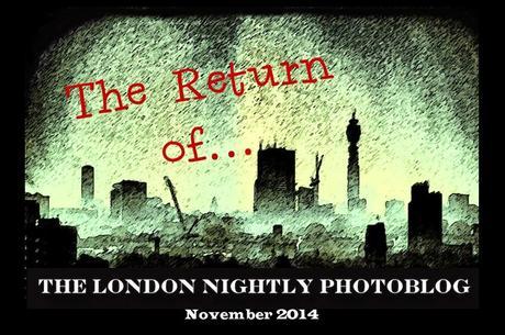 The Nightly London Photoblog 13:11:14 Underground