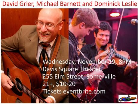 Progressive Bluegrass Comes to Davis Square November 19
