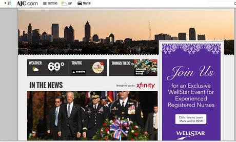 It's redesign time for Politico, Atlanta Journal Constitution