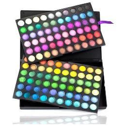 Shany - Eyeshadow Palette, Bold and Bright Collection, Vivid, 120 Color