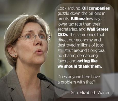 Can Warren Instill Courage In Senate Democratic Leaders ?