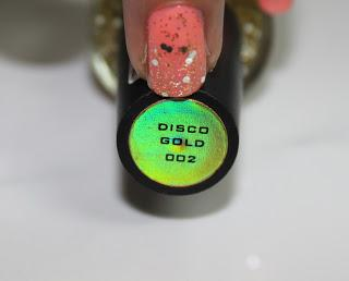 Colorbar (Nail Paint) Gliteratti Top Coat in Disco Ball
