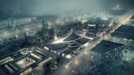 Bjarke Ingels Group renovation plan for Smithsonian south campus