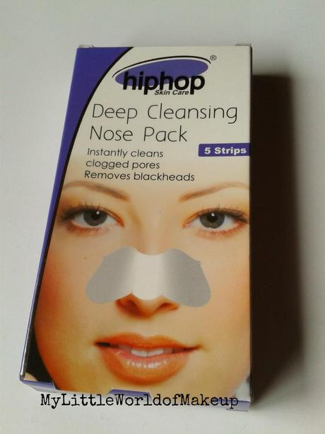 Hiphop Skin Care Deep Cleansing Nose Pack Strips Review