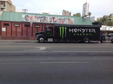 Monster Energy truck