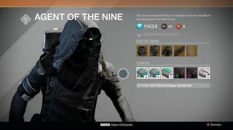 Destiny: Xur location and inventory for November 14, 15