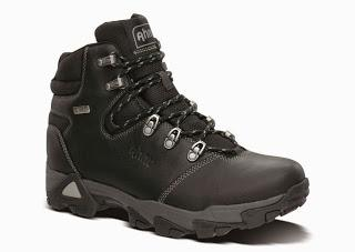 From The Cliffs To The Curbs:  Ahnu Mendocino Leather Waterproof Hiking Boot