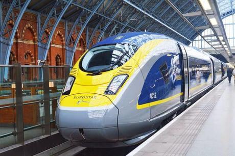 London se .. Paris tak ... in just 2 hours !! Eurostar E320 unveiled
