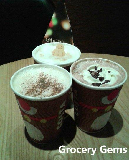 Costa Coffee Christmas Menu 2014
