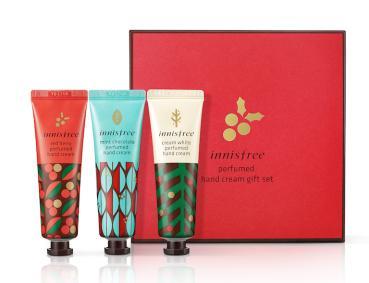 innisfree Christmas Perfumed Handcream Set