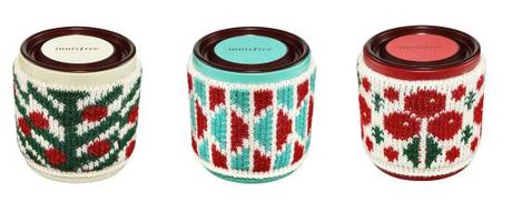 innisfree Cream White Perfumed Candle_Knit