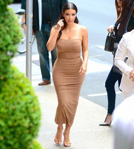 Kim Kardashian Took A Major Step Back