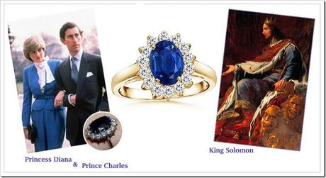 King Solomon and Lady Diana Sapphire Ring | blog.angara.com