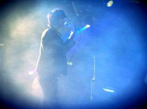 You may recognize this as this blog's background image. Again, Faris Badwan of the Horrors, live at Brixton in May 2012.