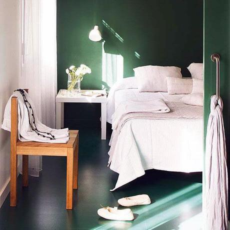 Dark Green Color Walls Paperblog