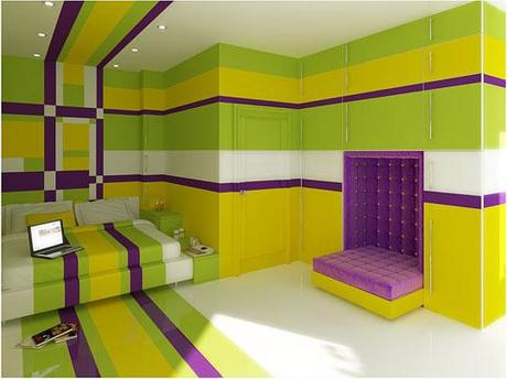 Dark Green Color Walls - Paperblog
