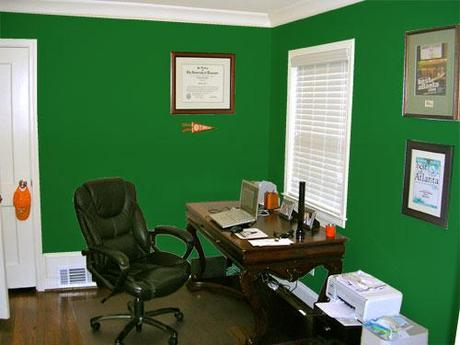 Green wall color