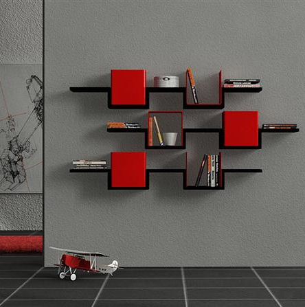 Unique wall decor shelves paperblog Fun wall shelves