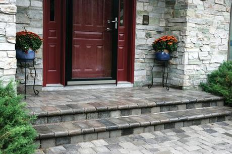 Front Yard Patio Entrance