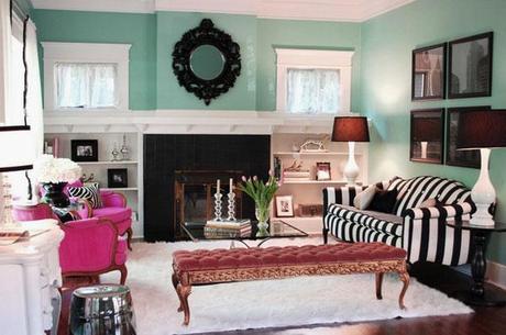 Vintage modern living room paperblog for Modern vintage living room ideas