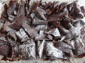 Snowflakes Chocolate Cake