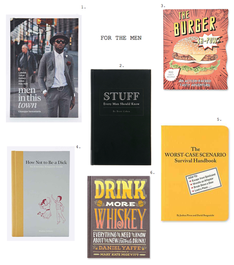 gift ideas for men funny books