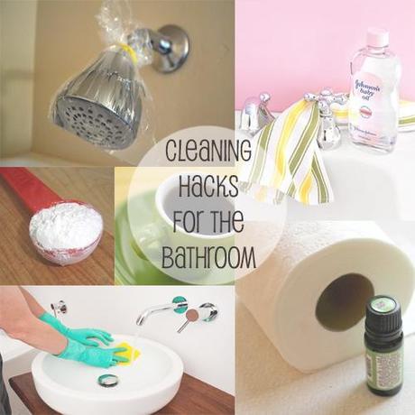 bathroom cleaning hacks paperblog