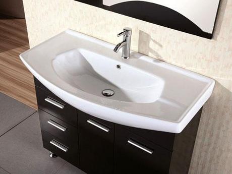 Sierra Modern Integrated Bath Sink