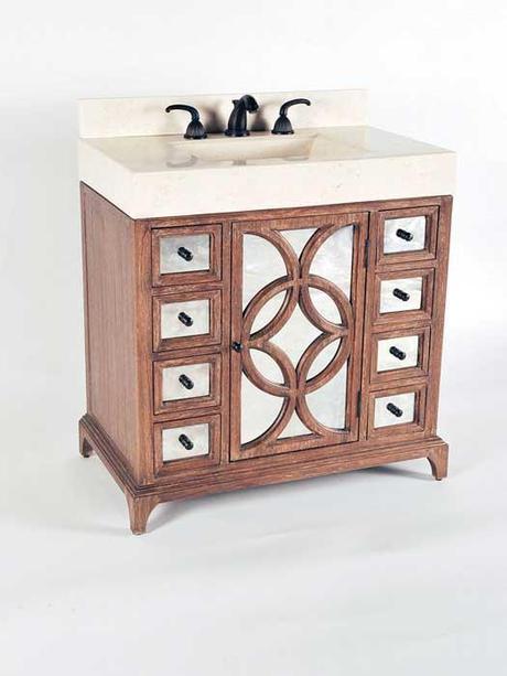 Vornado Mirrored Vanity with Integrated Sinks