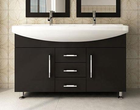 Celine Vanity with Integrated Porcelain Sink
