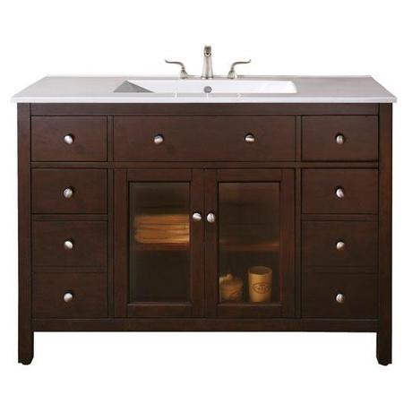 The Lexington Vanity with Integrated Sink