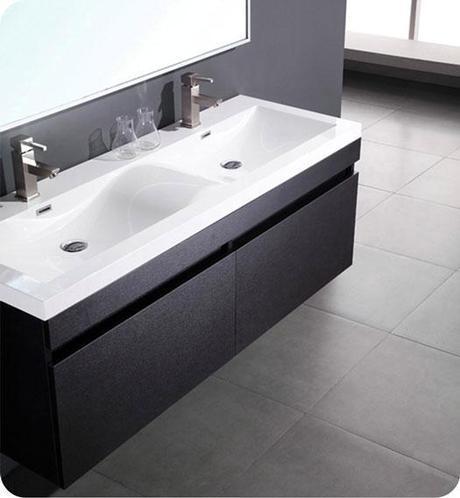 Largo Integrated Top Bathroom Vanity from Fresca