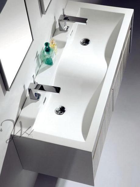 Integrated Sink Bathroom Vanities Inspired with Design ...