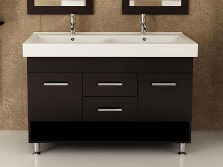 Modern Vanity with Integrated Sink