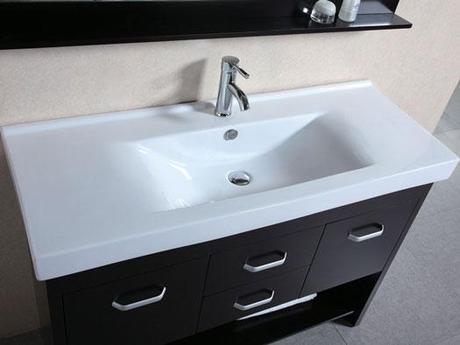 Citrus Modern Vanity Integrated Sink