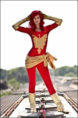 Sparky Cosplay as Phoenix (Photo by Chase Lawrence Photography)