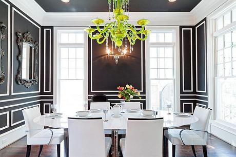 stunning contemporary dining room