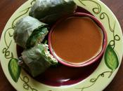 Guest Blogger: Create Mindfully Tofu Spring Rolls with Peanut Dipping Sauce