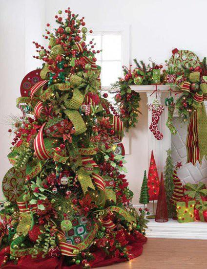 Top 10 Christmas Tree Theme Ideas! Paperblog - Christmas Tree Themes Pictures